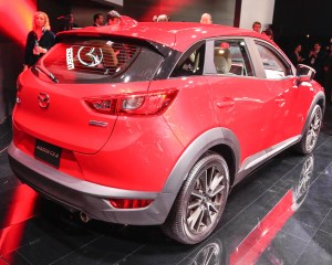 2016 Mazda CX-3 Rear Side Photo