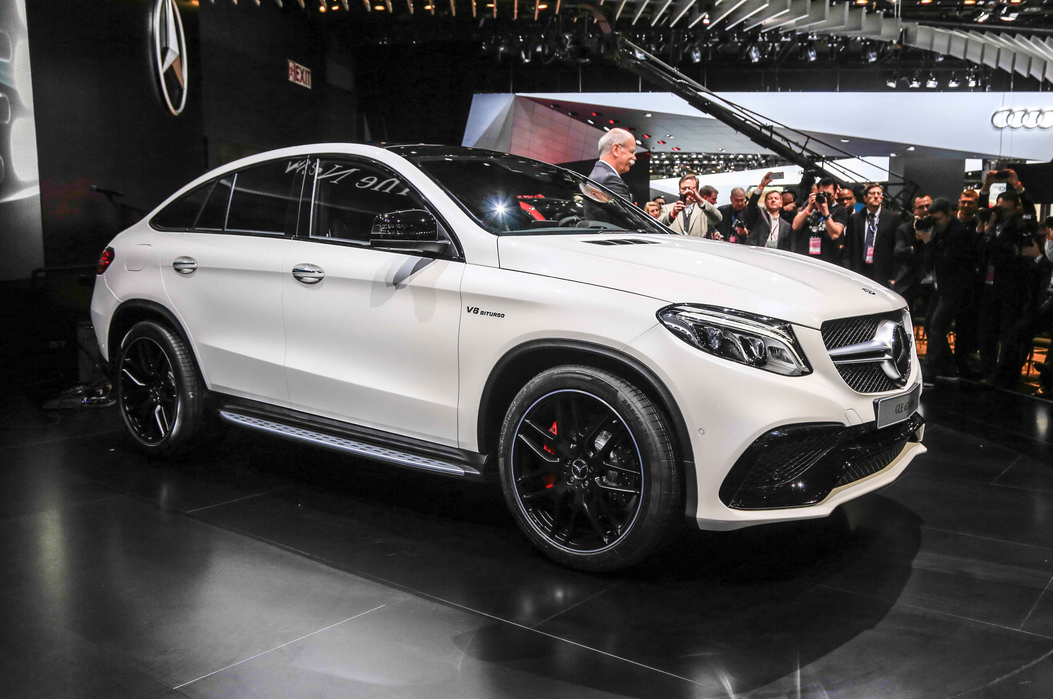 2016 Mercedes Benz AMG GLE63s Coupe Front Side