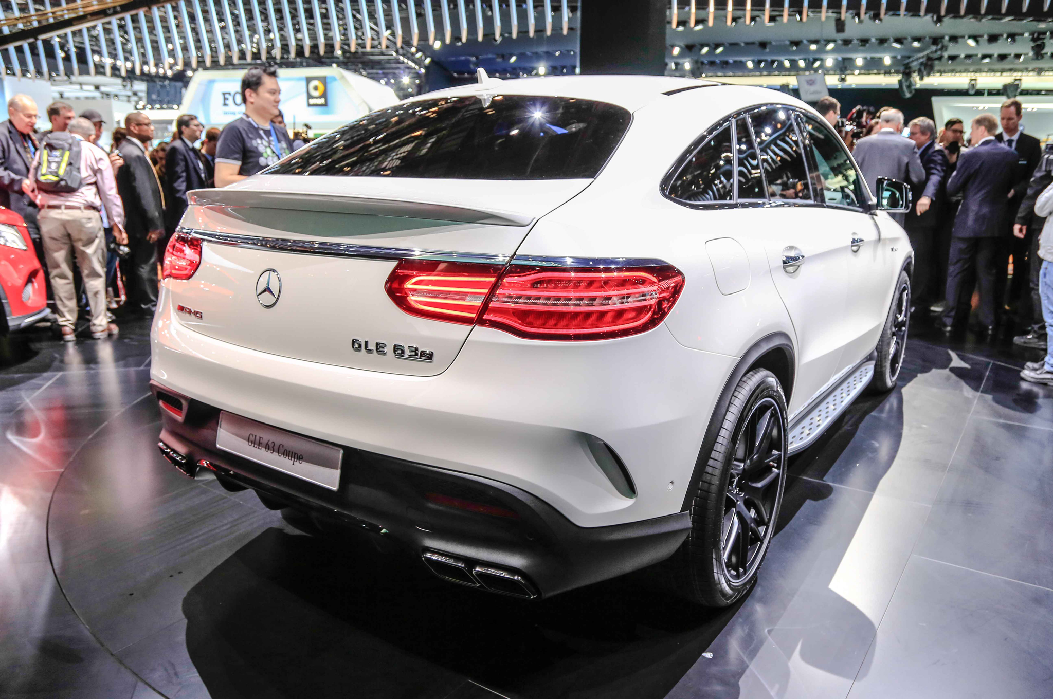 2016 Mercedes Benz AMG GLE63s Coupe Rear Side