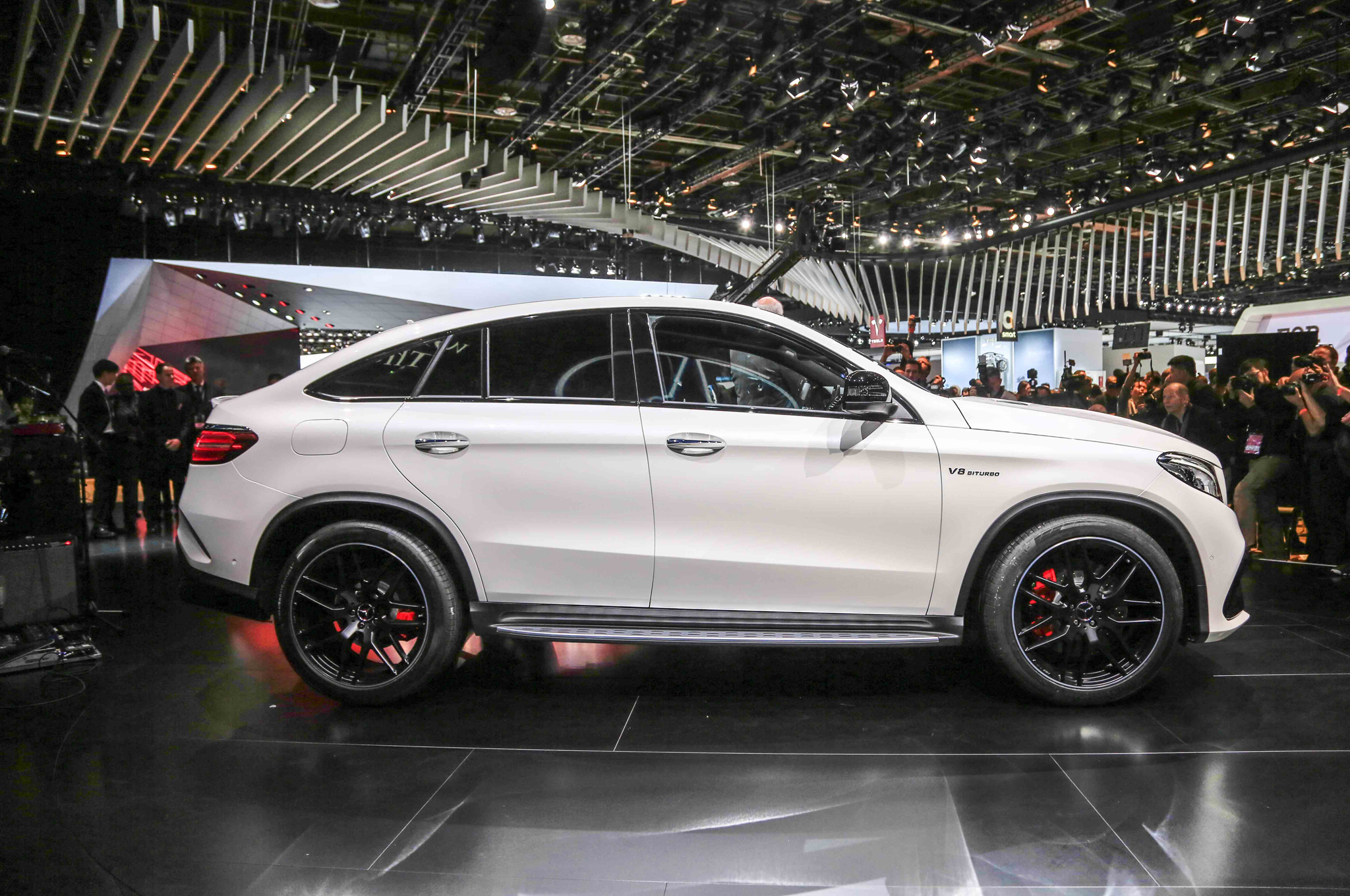 2016 Mercedes Benz AMG GLE63s Coupe Side Photo