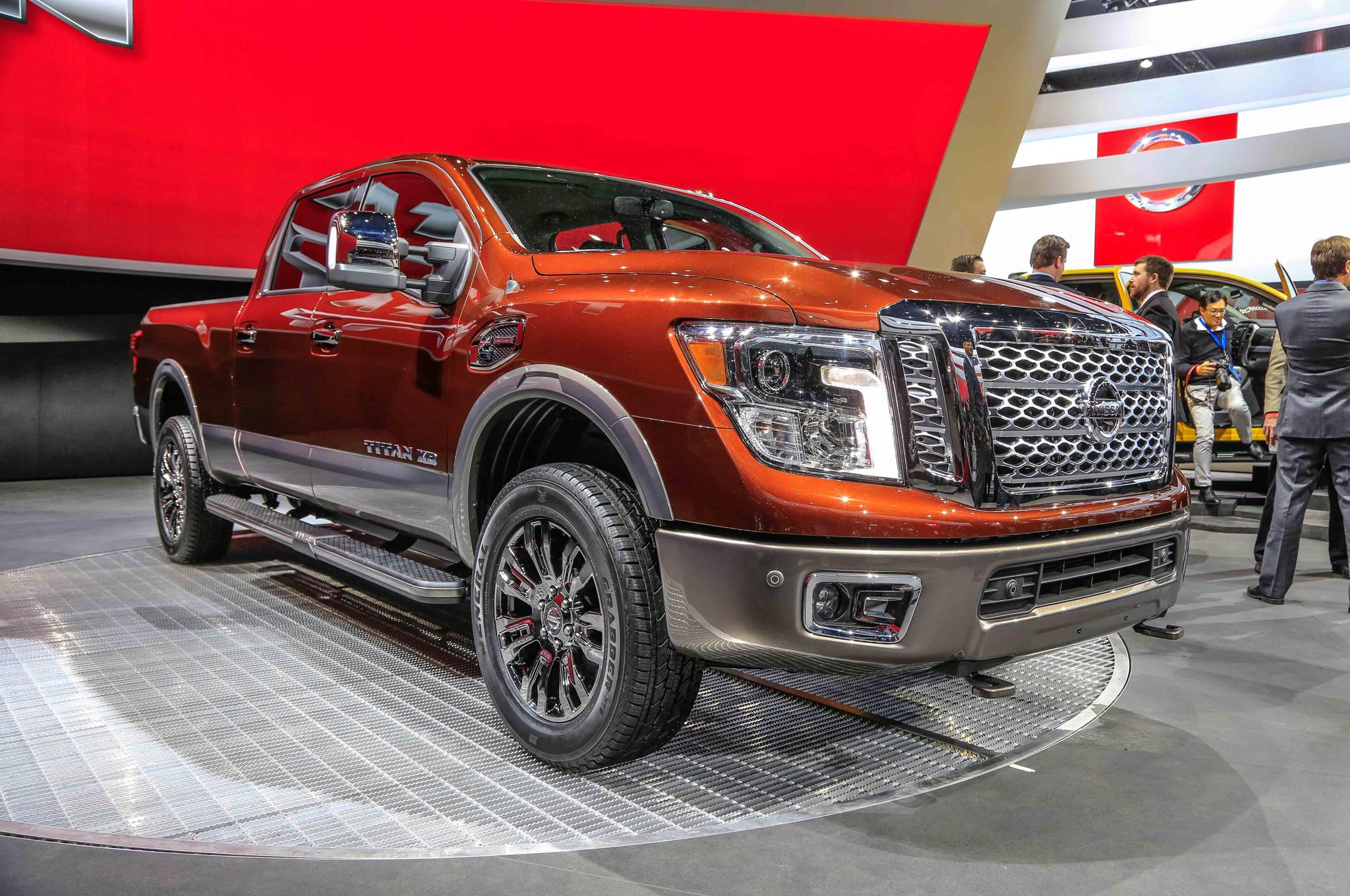 2016 Nissan Titan Exterior Preview