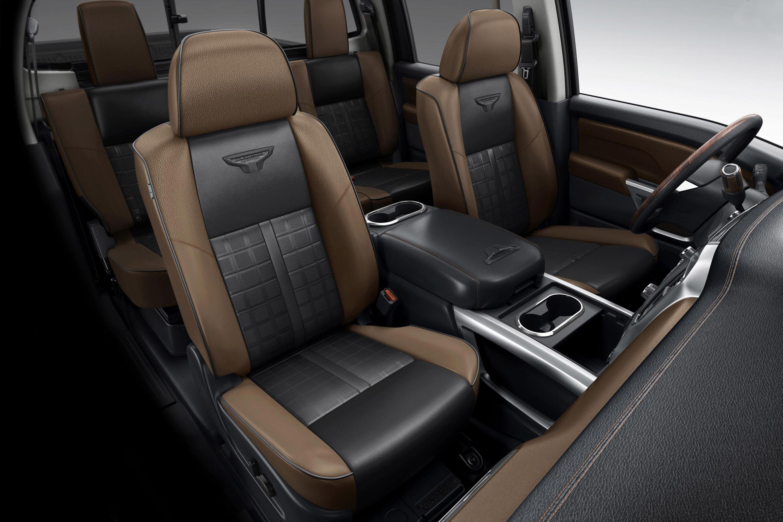 2016 Nissan Titan XD Interior Seats