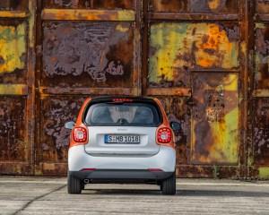 2016 Smart Fortwo Rear Design