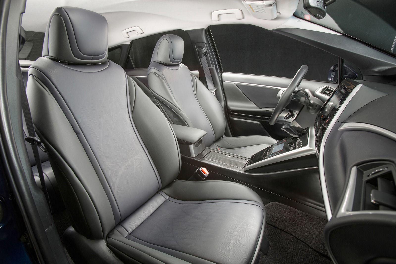 2016 Toyota Mirai Front Interior Seats