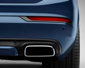 2016 Volvo Xc90 R-Design Rear Bumper Photo