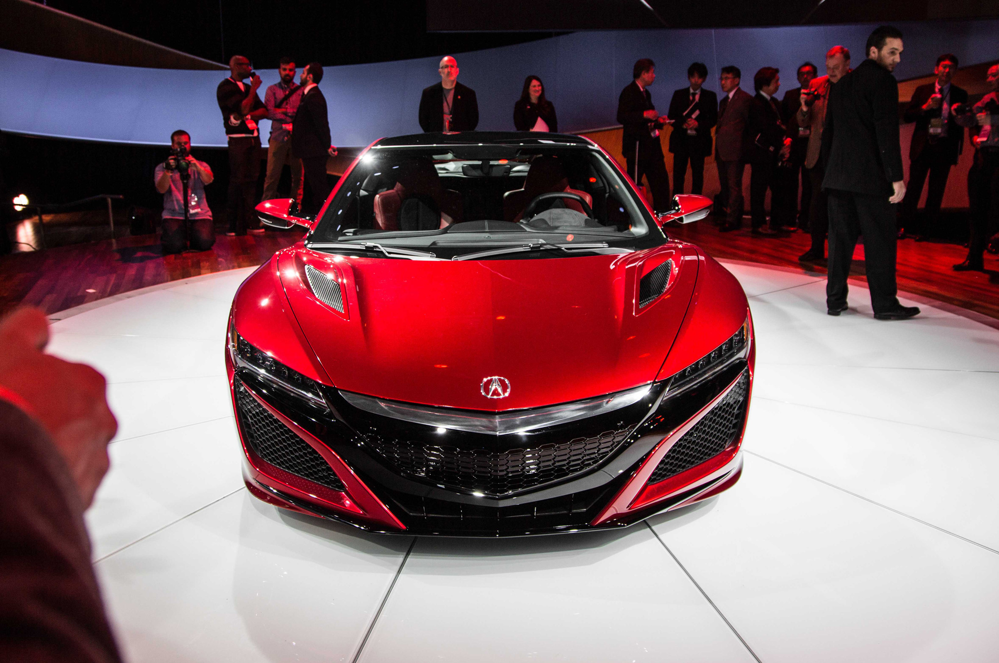 New 2016 Acura NSX Front End