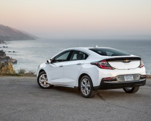 New 2016 Chevrolet Volt Rear Side View