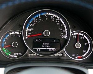 2014 Volkswagen e-Up Speedometer