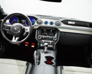 2015 Ford Mustang 50th Anniversary Edition Interior Dashboard