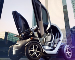 2015 Renault Twizy Front Seats