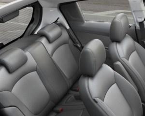 2015 Spark EV Rear Seats