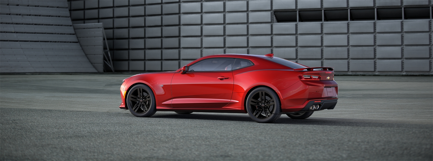 2016 Chevrolet Camaro Red Side Preview