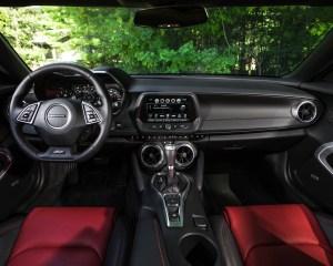 2016 Chevrolet Camaro SS Interior Dashboard