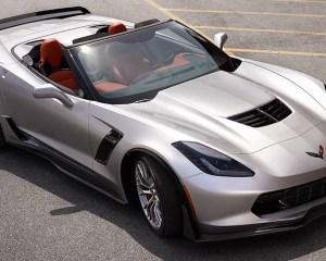 2016 Chevrolet Corvette Z06 Convertible Silver