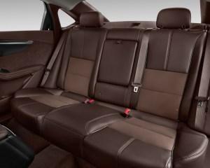 2016 Chevrolet Impala Rear Seats Interior