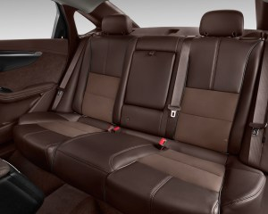 2016 Chevrolet Impala Rear Seats Interior