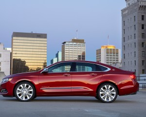 2016 Chevrolet Impala Red Exterior Preview