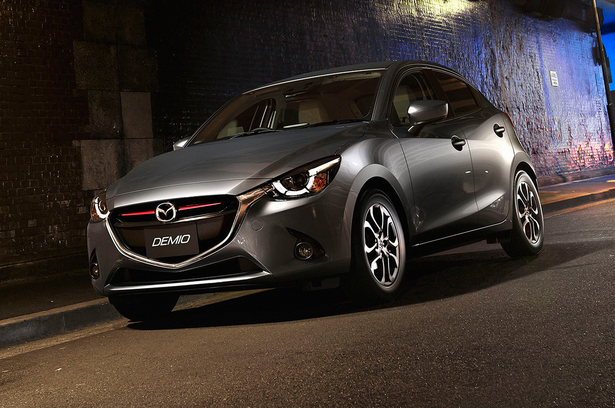 2016 Mazda 2 Dark Grey