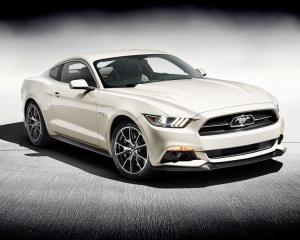 New 2015 Ford Mustang 50th Anniversary Edition
