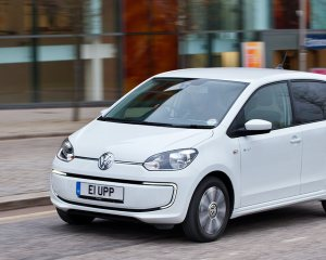 Volkswagen e-Up Exterior Preview