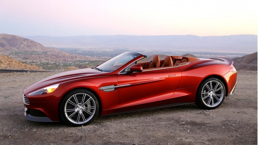 2014 Aston Martin Vanquish Convertible