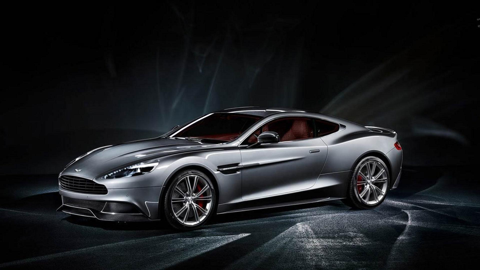 2014 Aston Martin Vanquish Model