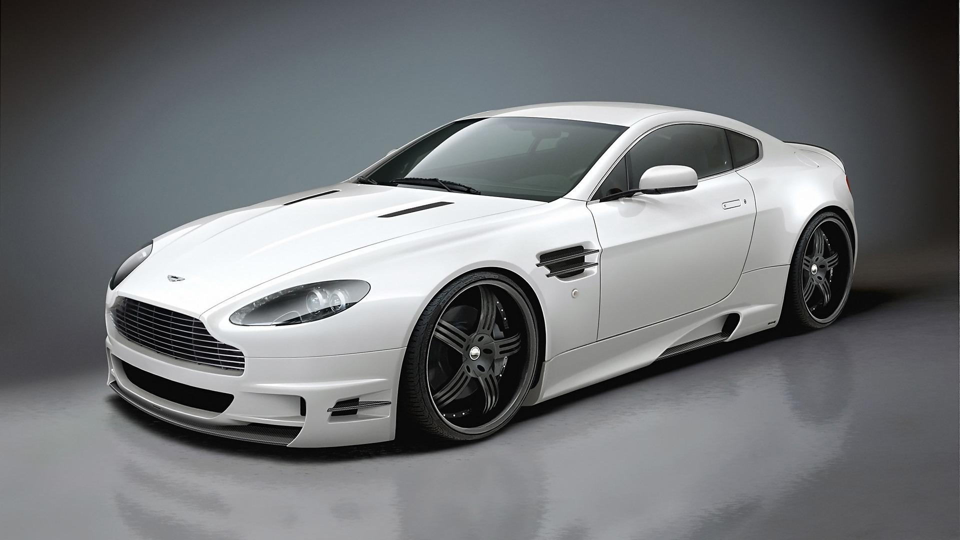 2014 White Aston Martin DB9