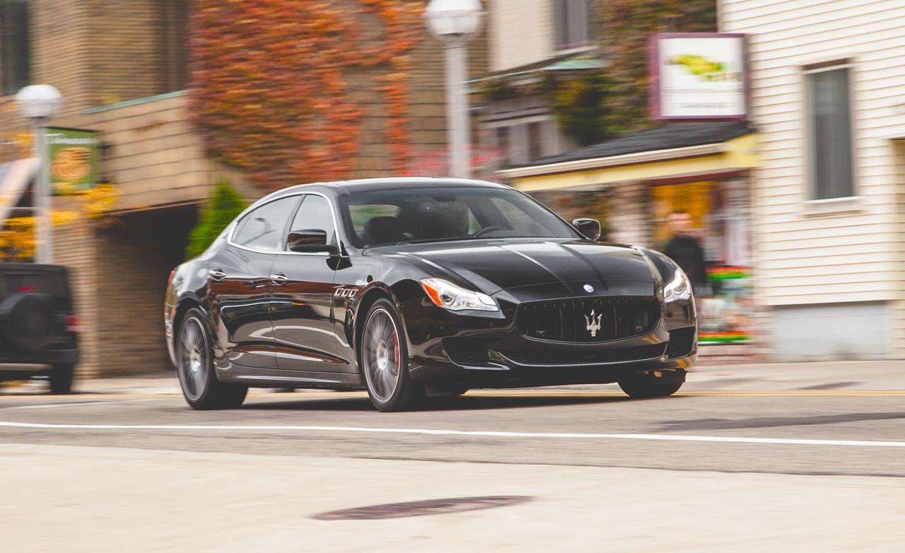 Performance: 2015 Maserati Quattroporte GTS