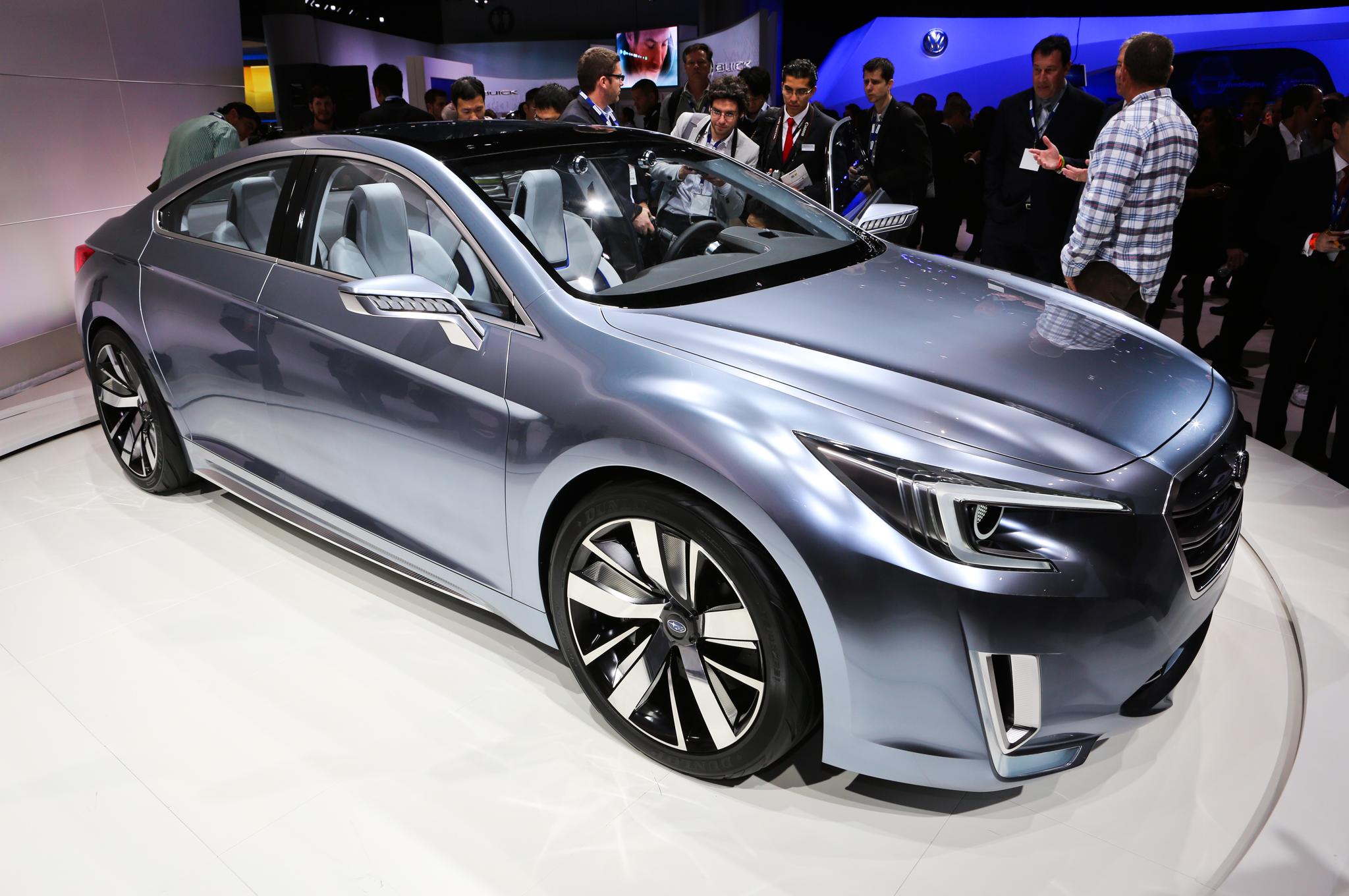 Photo: 2015 Subaru Legacy Concept Revealed