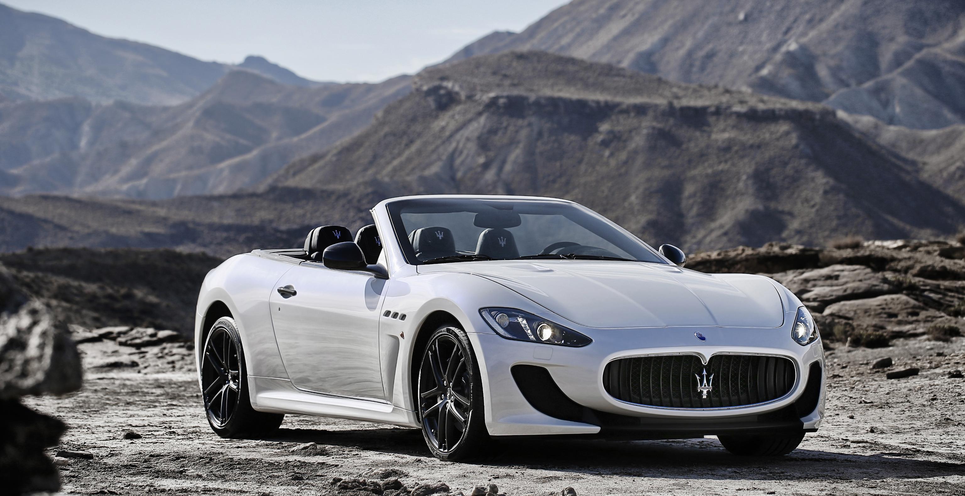 (White) 2015 Maserati GranTurismo MC Stradale