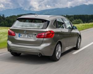 2015 BMW 225i Active Tourer Exterior Rear and Side