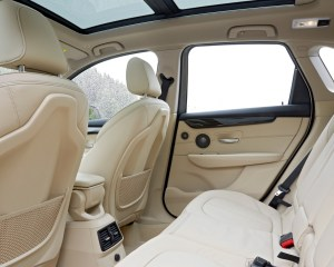 2015 BMW 225i Active Tourer Interior Rear Seats