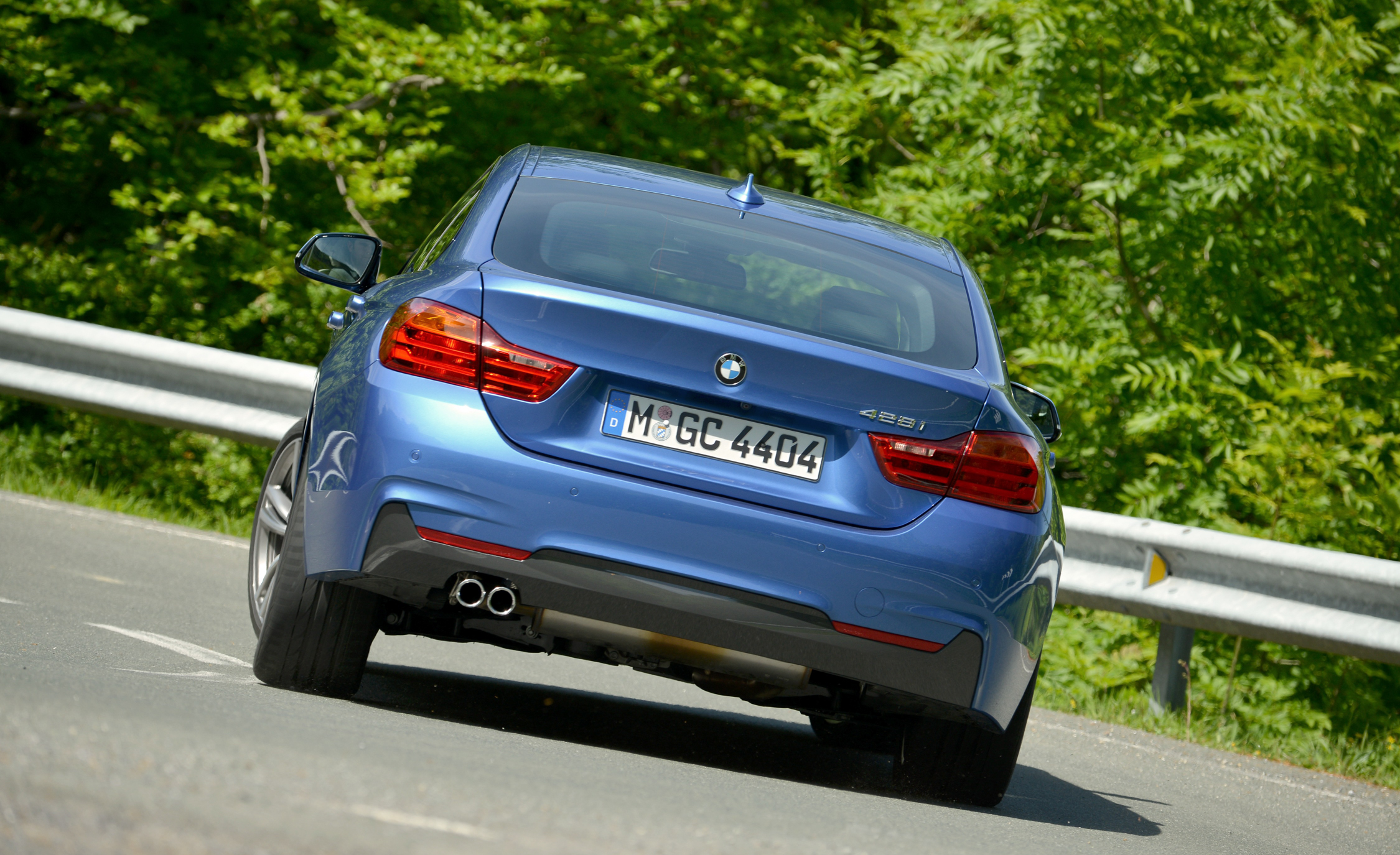 2015 BMW 428i Gran Coupe M Sport Exterior Rear