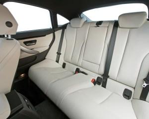 2015 BMW 428i Gran Coupe Interior Rear Seats