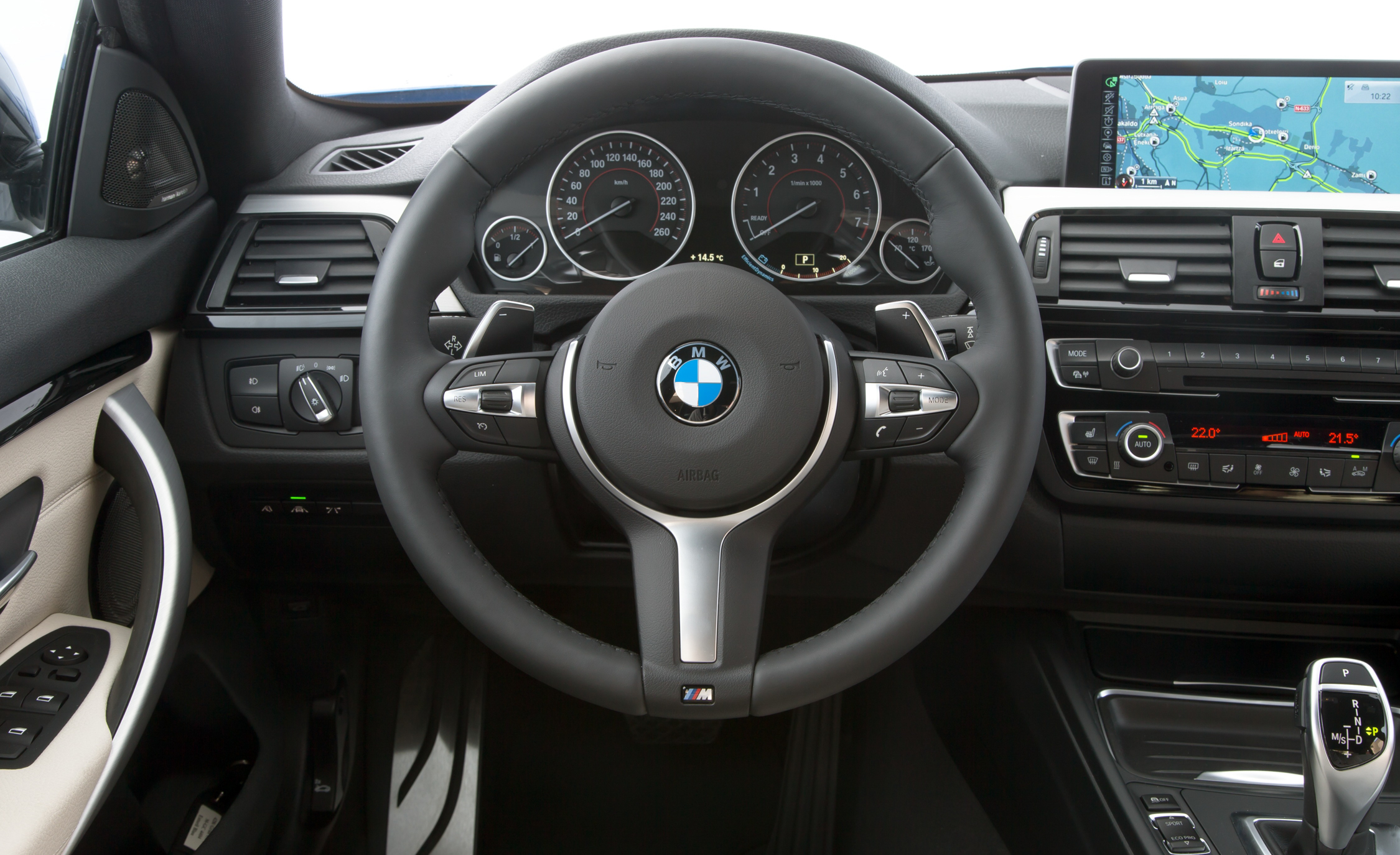 2015 BMW 428i Gran Coupe Interior Steering