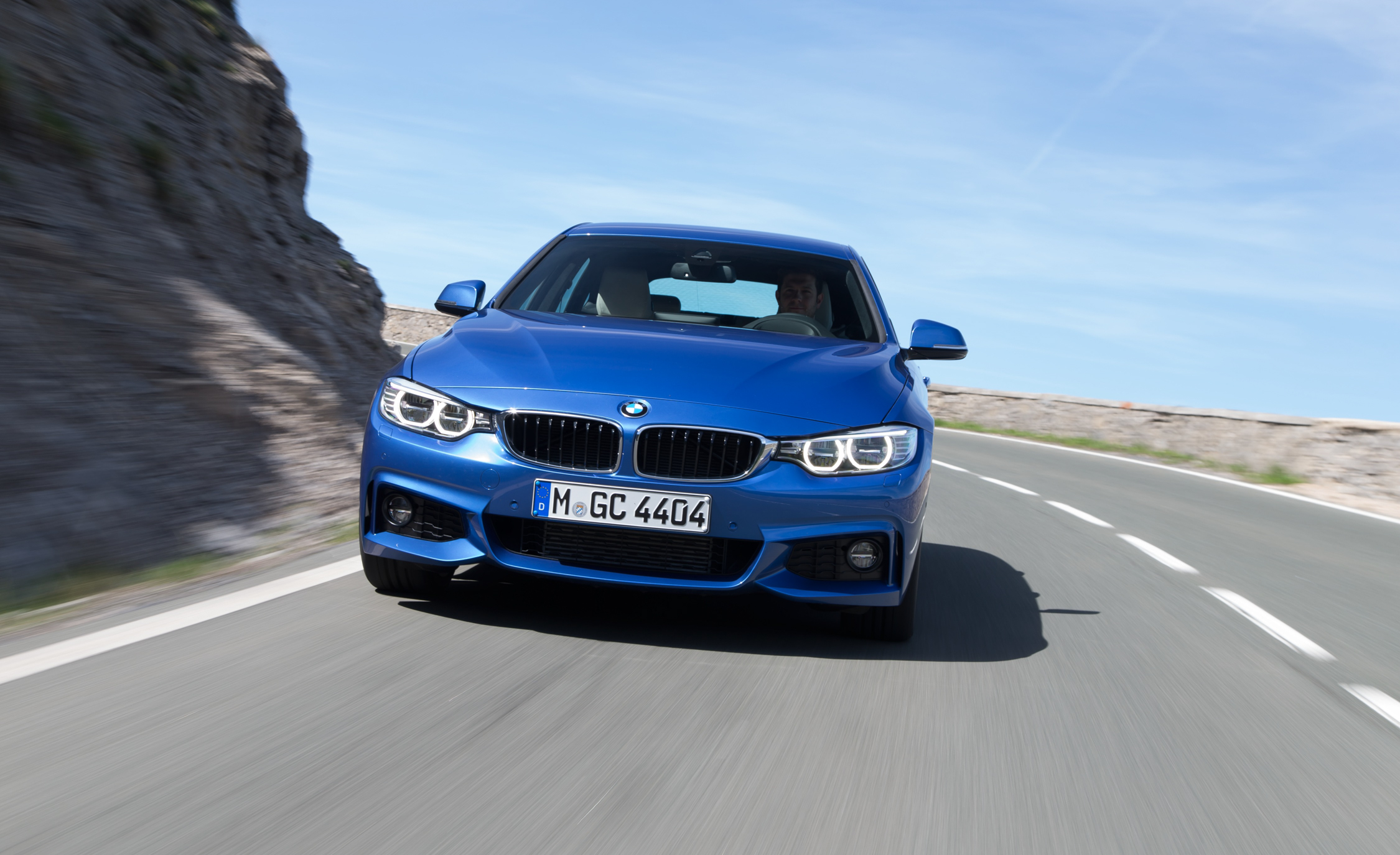 2015 BMW 428i Gran Coupe Test Front View