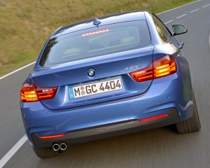 2015 BMW 428i Gran Coupe Test Rear View