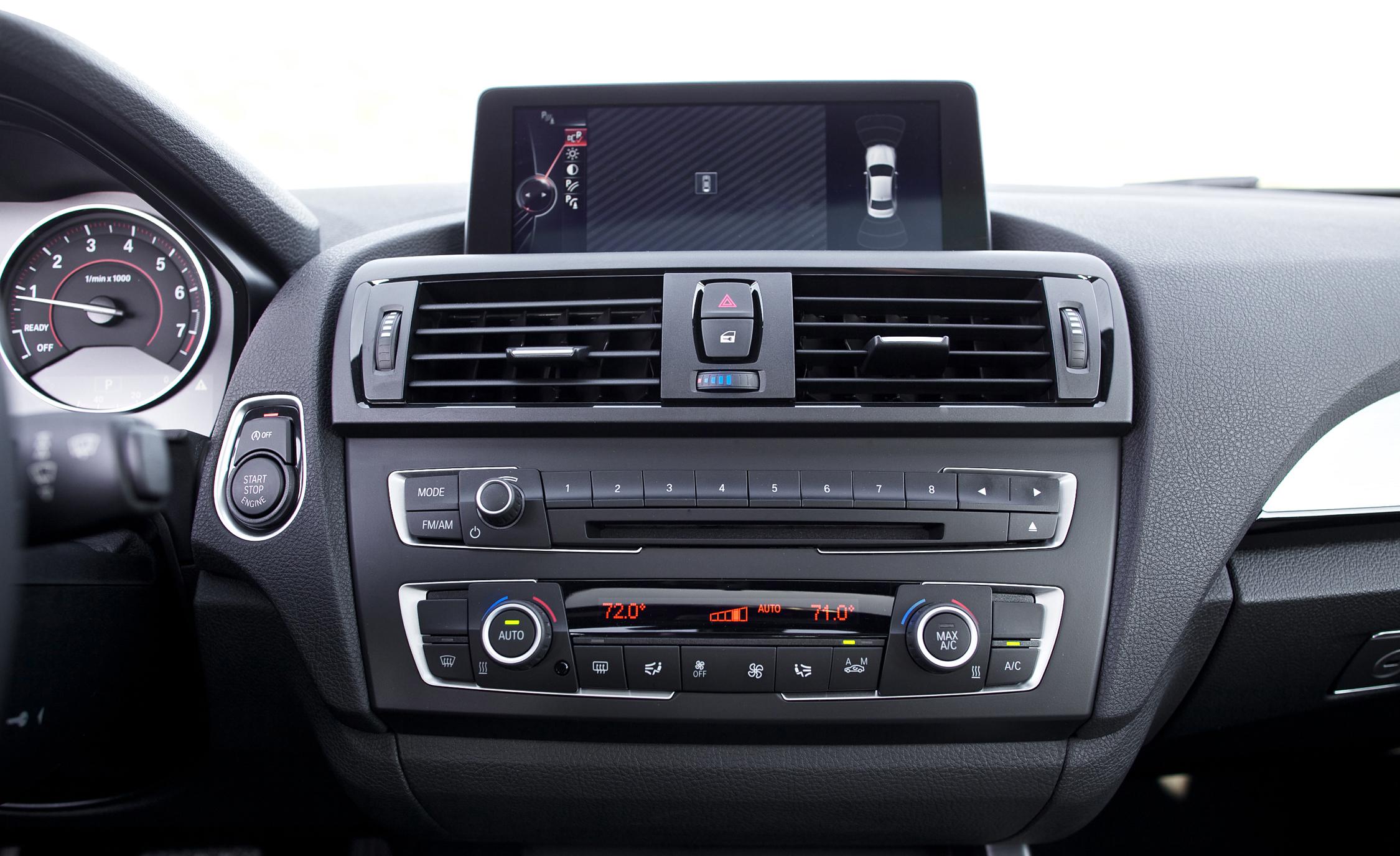 2015 BMW M235i xDrive Interior Center Head Unit
