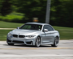 2015 BMW M4 Convertible Top Up