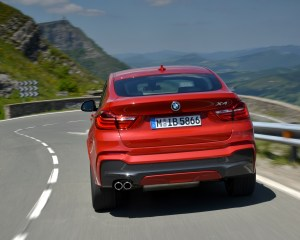 2015 BMW X4 xDrive35i Exterior Rear