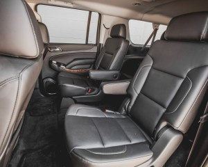 2015 Chevrolet Suburban LTZ Interior 2nd Row Passenger Seats