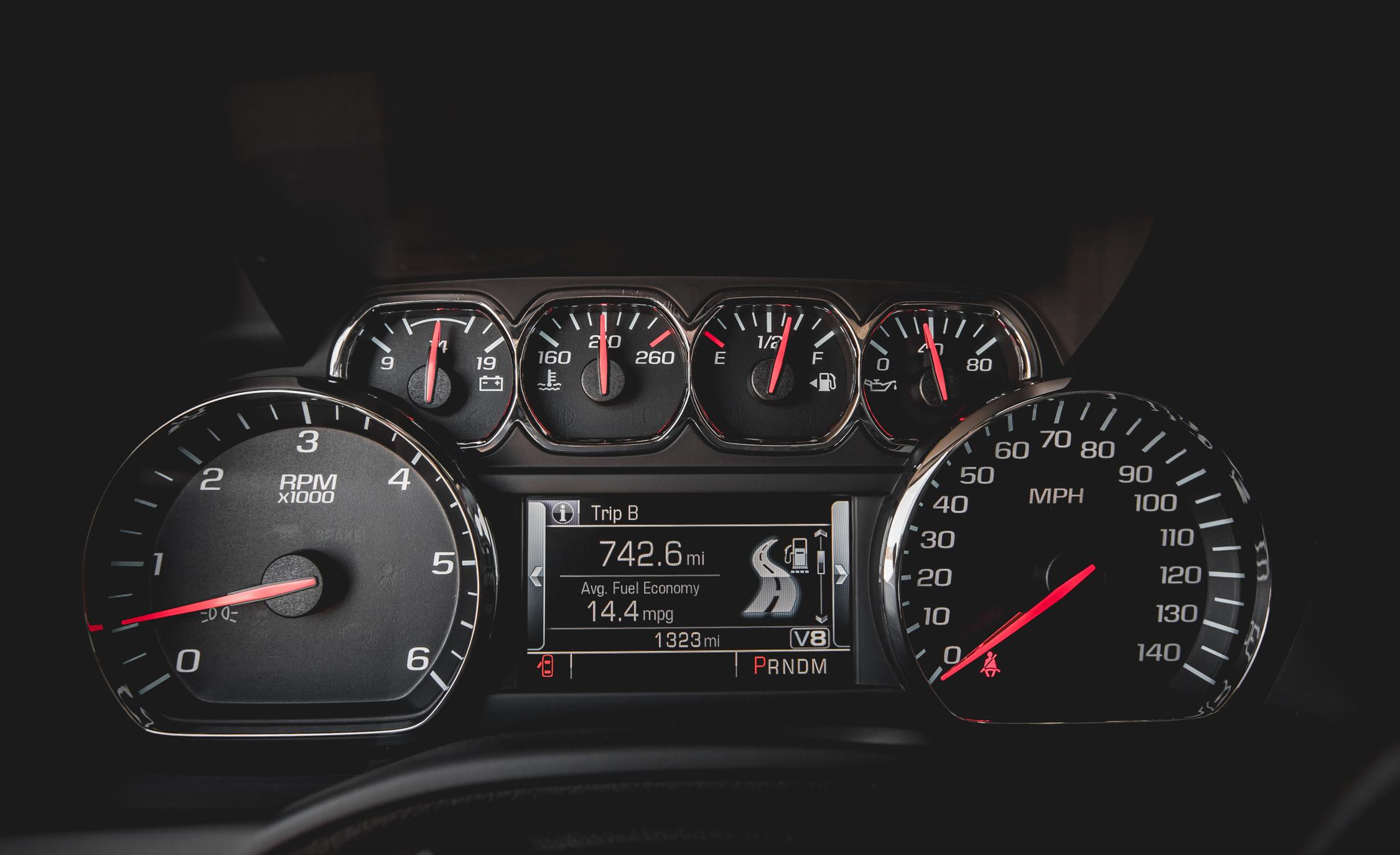 2015 Chevrolet Suburban LTZ Interior Speedometer