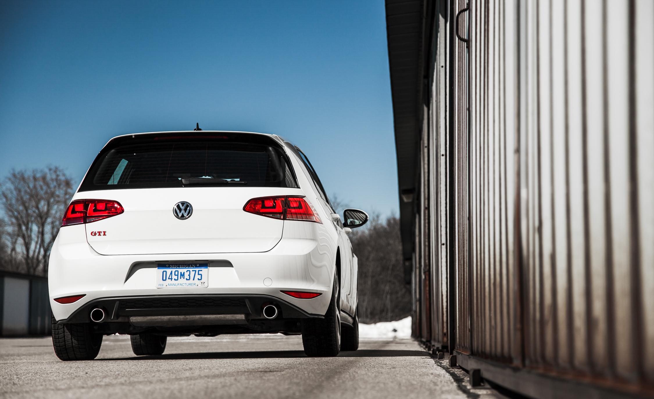 2015 Volkswagen GTI Exterior Rear