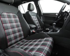 2015 Volkswagen GTI Interior Front Passenger Seat