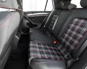 2015 Volkswagen GTI Interior Rear Passenger Seats