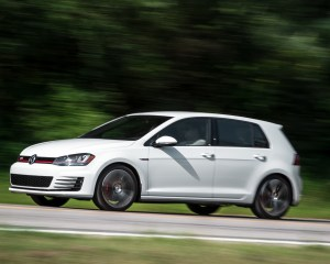2015 Volkswagen GTI Test Front and Side View