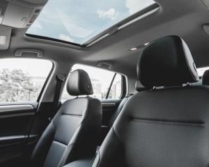 2015 Volkswagen Golf TSI Interior Seats and Panoramic Roof