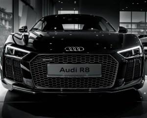 2016 Audi R8 V10 Plus Mythos Black Metalic Front Exterior