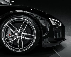 2016 Audi R8 V10 Plus Mythos Black Metalic Velg Design