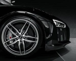 2016 Audi R8 V10 Plus Mythos Black Metalic Velg Design